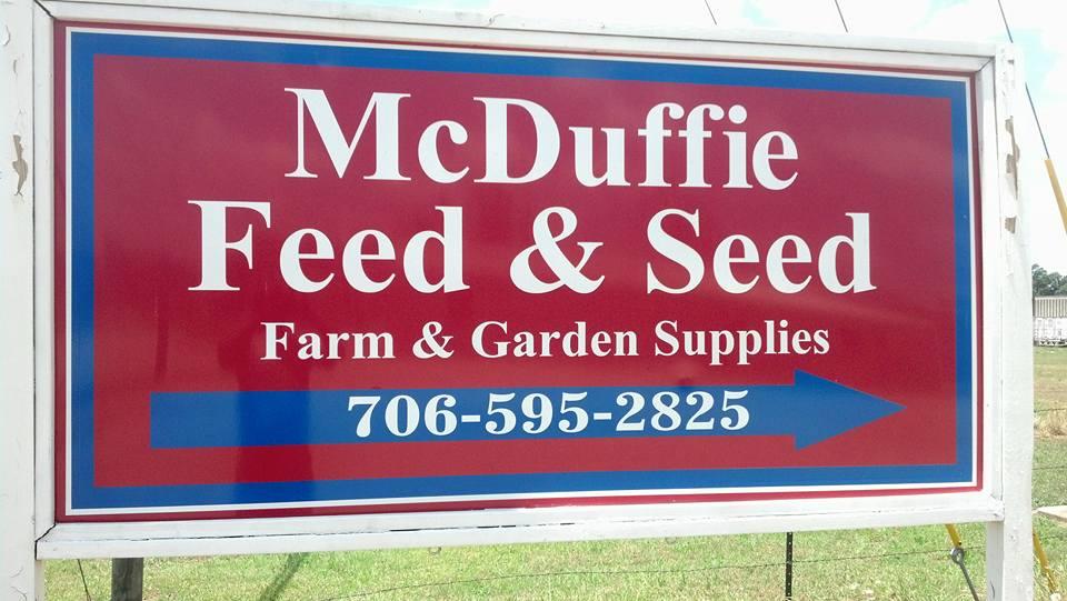 McDuffie Feed and Seed in Thomsom, Georgia