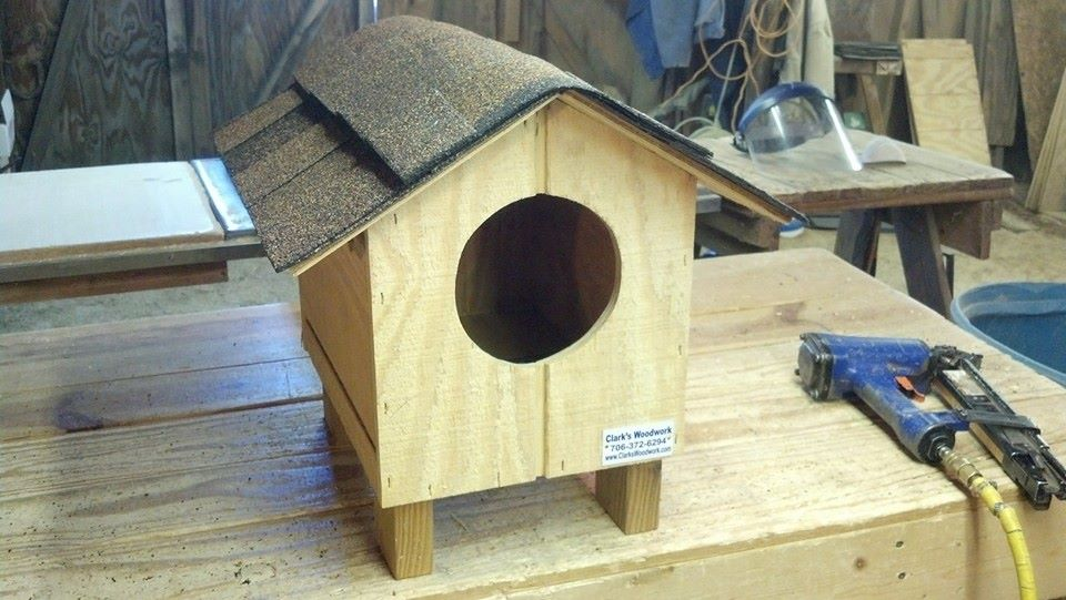 Small Cat House 50 00
